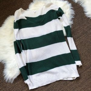 BP Striped Long Sweater | Size L